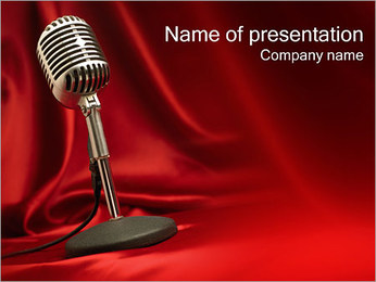 Audio Recording PowerPoint Template
