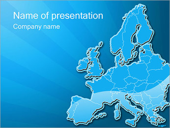 Europe PowerPoint Template