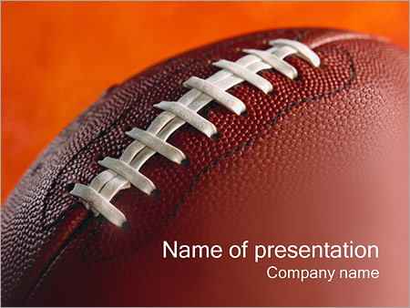 American football powerpoint template backgrounds id 0000000449 american football powerpoint template toneelgroepblik Image collections