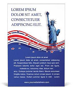 День независимости Шаблоны рекламных объявлений