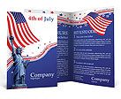 Independence Day Brochure Template