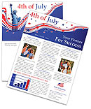 Independence Day Newsletter Templates