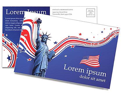Dia da Independência Cartões postai