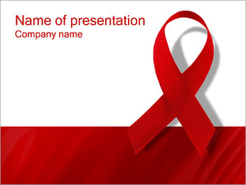 AIDS PowerPoint Template