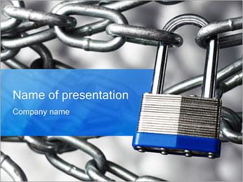 Lock PowerPoint Template