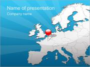 Travel to Europe PowerPoint Templates