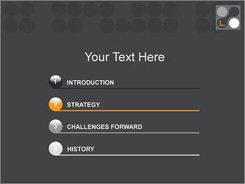 Minimal Modèles des présentations  PowerPoint - Diapositives 3