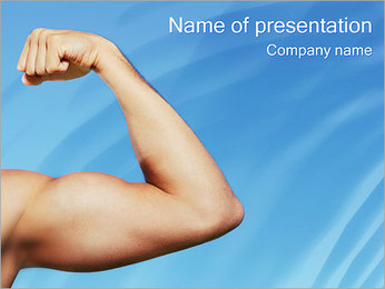 Biceps PowerPoint Template