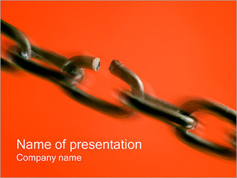 Chain PowerPoint Template