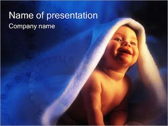 Baby Sjablonen PowerPoint presentatie