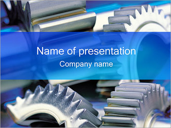Engrenagem Modelos de apresentações PowerPoint