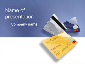 Credit Card PowerPoint Template