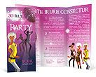 Party Brochure Templates