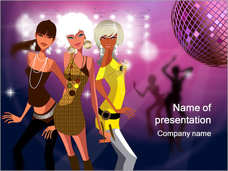 Party Powerpoint Template Backgrounds Google Slides Id
