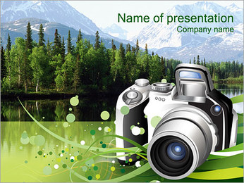 Digital Camera PowerPoint Template