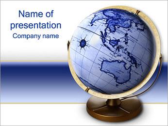 Terrestrial Globe PowerPoint Template