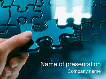 Solving Puzzles PowerPoint Template