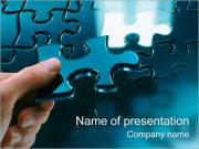 Solving Puzzles PowerPoint Templates