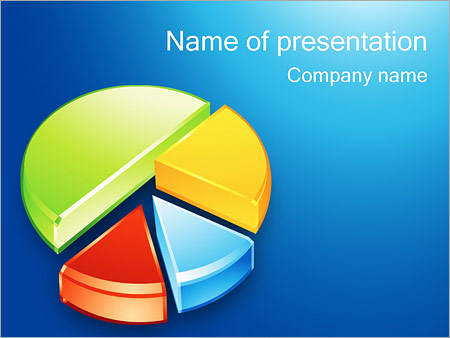 Pie Chart Powerpoint Template Backgrounds Google Slides Id
