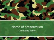 Army Texture PowerPoint Templates