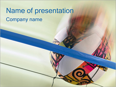 Volleyball powerpoint template backgrounds id 0000000499 volleyball powerpoint templates toneelgroepblik Images