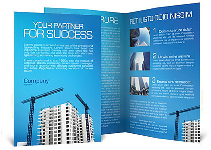 Building Plot Brochure Template