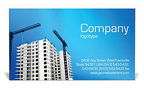 Building Plot Business Card Templates