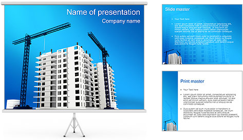 building plot powerpoint template amp backgrounds id