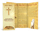 Holy Bible Brochure Template