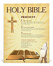 Holy Bible Flyer Templates