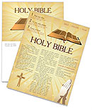 Holy Bible Newsletter Template