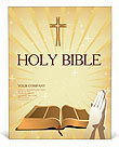 Holy Bible Poster Template