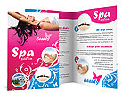 Massage Brochure Templates