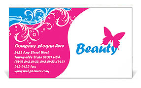 Massage Business Card Templates