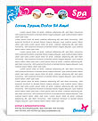 Massage Letterhead Templates