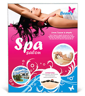 Massage Poster Template