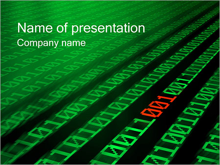 Digits PowerPoint-Vorlagen - Slide 1