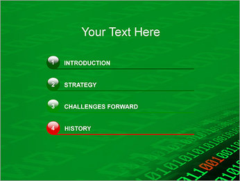 Digits PowerPoint Templates - Slide 3
