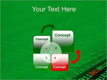 Dígitos Modelos de apresentações PowerPoint - Slide 5