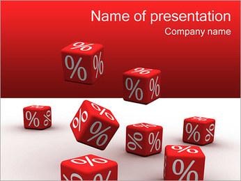 Percent PowerPoint Template - Slide 1