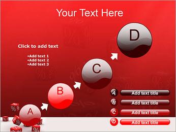 Percent PowerPoint Template - Slide 15