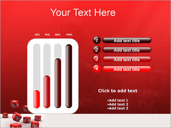 Percent PowerPoint Template - Slide 18