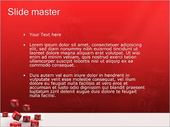 Percent PowerPoint Template - Slide 2