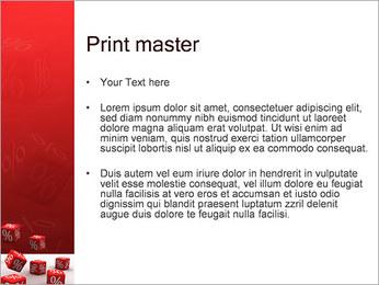 Percent PowerPoint Template - Slide 24