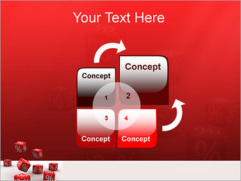 Percent PowerPoint Template - Slide 5