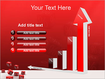 Percent PowerPoint Template - Slide 6