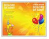 Ballons Les brochures publicitaire