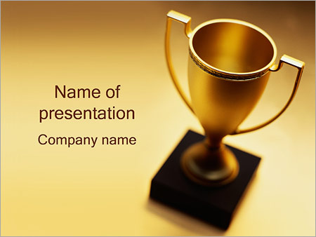 award powerpoint template & backgrounds id 0000000516, Modern powerpoint