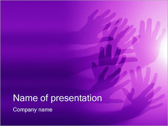 Hands PowerPoint Template