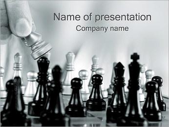 Schack PowerPoint presentationsmallar